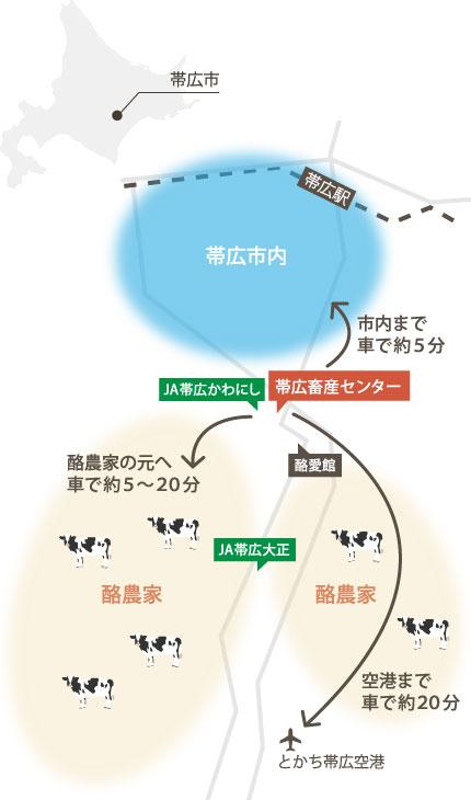 帯広マップ